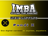 PUNDI X listing