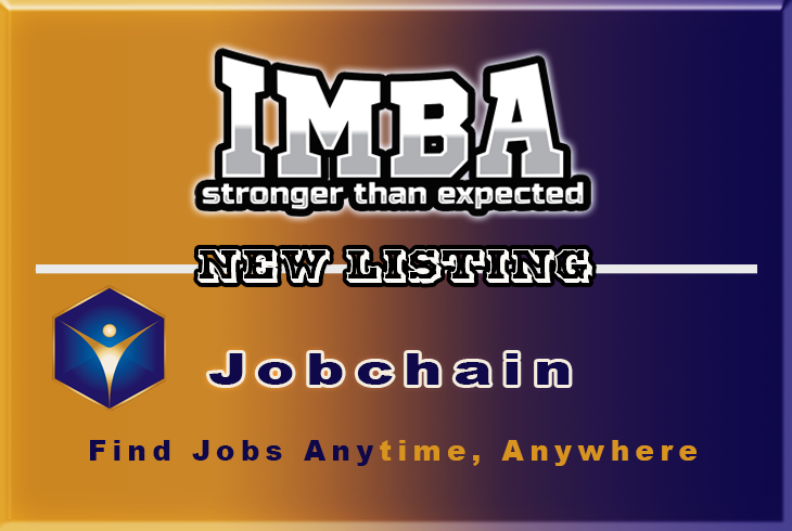 JOBCHAIN ON IMBA