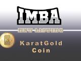 KaratGold Coin listung