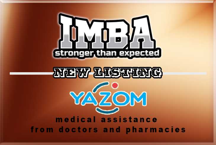 Yazom listing on IMBA
